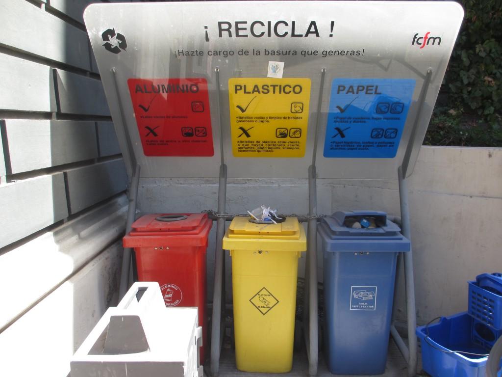 Puntos antiguos de Reciclaje [Fuente: El Diario Integral]